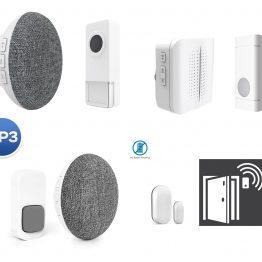 MP3 doorbell – batteries button2